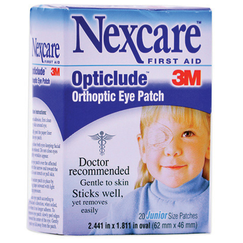 Picture of 3M Nexcare Opticlude - Junior - 20/Box