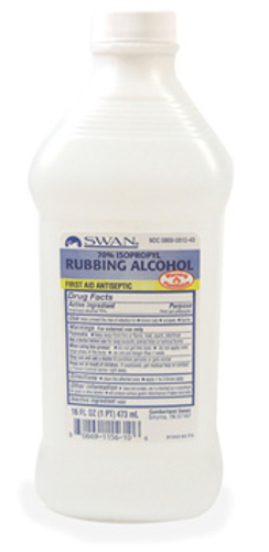 Picture of Alcohol Isopropyl 70Pct 16 oz