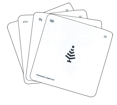 Picture of Allen Preschool Vision Card- 4X4 - 4/set