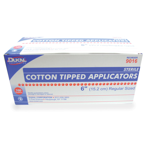Picture of Cotton Tipped Applicators - Sterile - 2/Pkg - 6In - 100/Box
