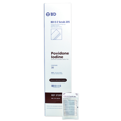 Picture of Ez Scrub W/Povidone Iodine - 10 mL - 30/Box