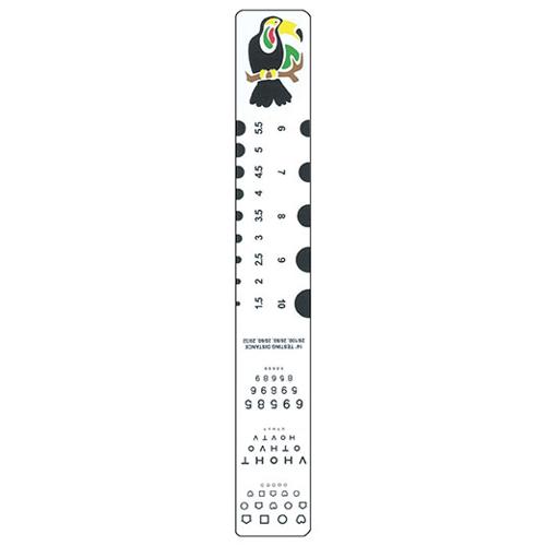 Picture of Fixation, Pediatric & Pd Rule Mini Near Chart