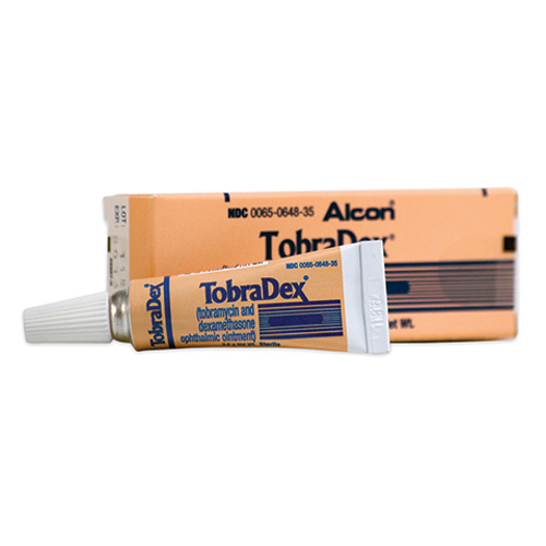 Picture of Tobradex Ointment (Rx) 3. 5 gm-This Product Is Non-Refundable/Non-Returnable.