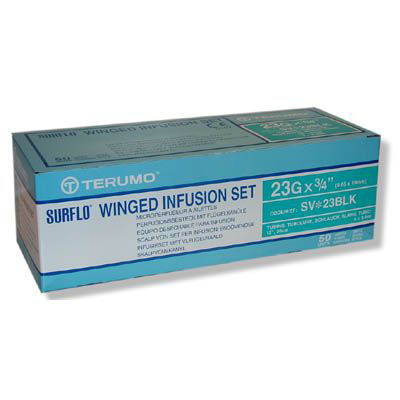 Picture of Winged Infusion Set 23Gx3/4 W/12 Inch Tubing Box/50