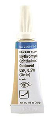 Picture of Erythromycin 0.5 Pct Ointment (Rx) 3.5 gm