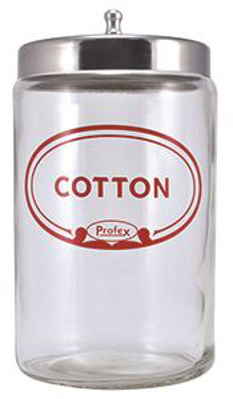 Picture of Sundry Jar - Cotton Ball Jar W/Cover - 7X4 - Ea