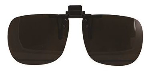 Picture of Clip-On/Flip-Up Lenses Polarized - Brown