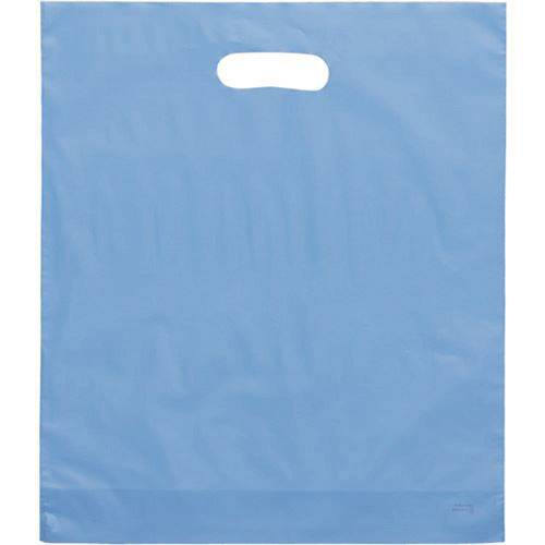 "Picture of Frosty Merchandise Bags-Blue 9""X12"" 50/Box"