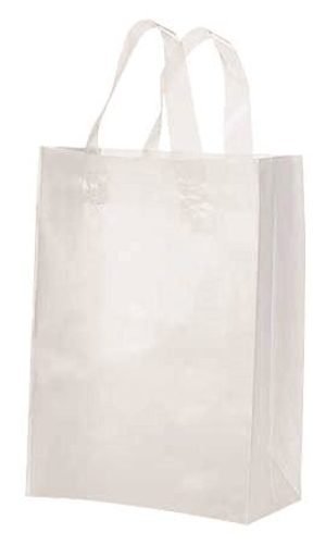 """Picture of Frosty Shopper Bags-Clear 8""""X5""""x10"""" 50/Box"""
