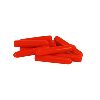 Picture of Instrument Tip Cover Non-Vent Red 3. 2X25. 4 mm Pk/100