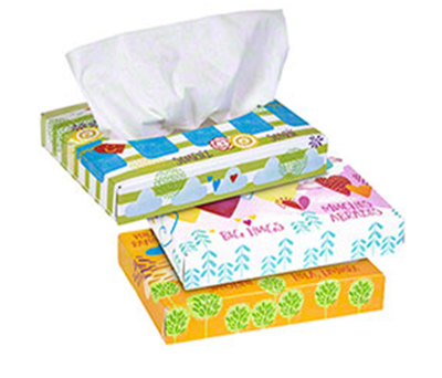 Picture of Kleenex Facial Tissue - Junior - 40 Sheets - 80/Case