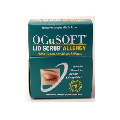 Picture of Ocusoft Lid Scrub Allergy Eyelid Cleanser - Sample 35 Ct