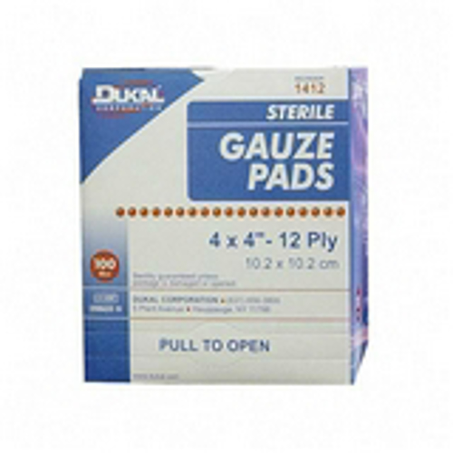 Picture of Gauze Pads-Sterile 4X4 12 Ply Box/100
