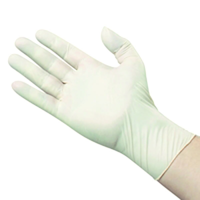 Picture of Latex Examination Gloves Powder Free ( Medium) - Box/100