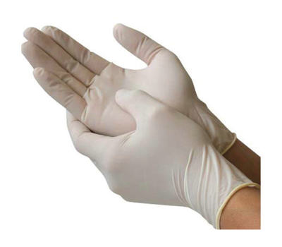 Picture of Latex Exam Gloves-Powder-Free Micro-Touch Plus (Small) Box/150