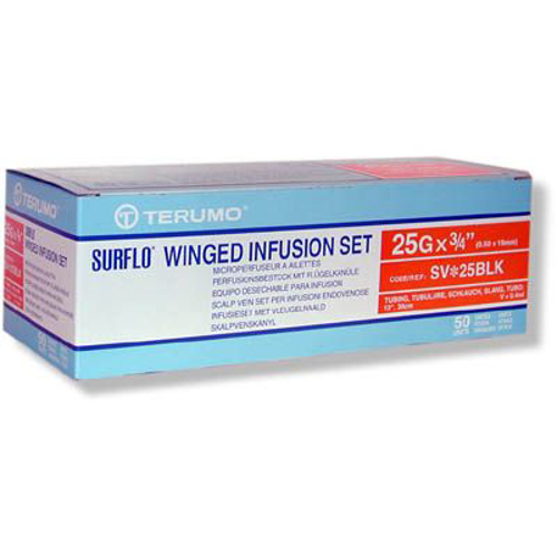 Picture of Winged Infusion Set 25Gx3/4 W/12 Inch Tubing Box/50