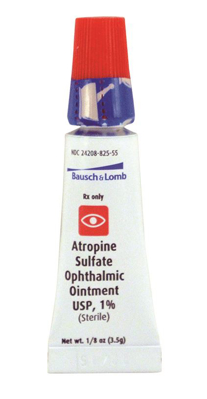 Picture of Atropine Sulfate 1. 0 Pct Ointment(Rx) 3. 5 Gm