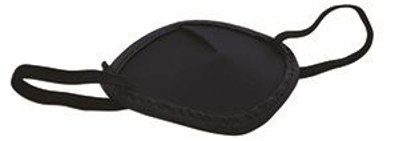 Picture of Cloth Eye Shields - Black W/Headband -Bag/12