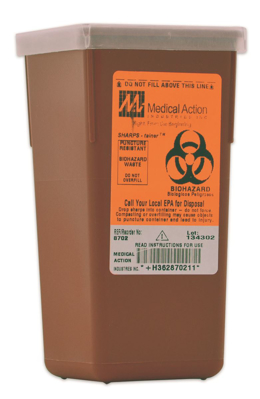 Picture of Sharps Container 1 Quart - Ea