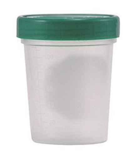 Picture of Sterile Specimen Cups 4 oz - Sterile Case/100