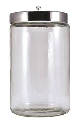 Picture of Sundry Jar - Tongue Blade Jar W/ Cover - 7X4. 25 - Ea