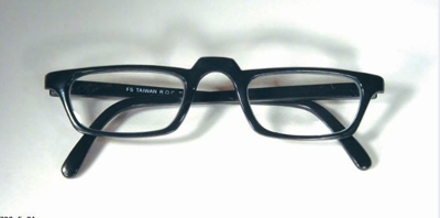 Picture of Half Eye Reading Glasses - Black