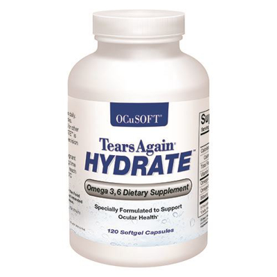 Picture of Tears Again Hydrate Softgels -120/Btl