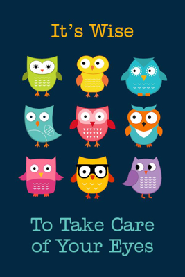 Picture of Wise Owls Reminder Postcard 4X6 50 ct