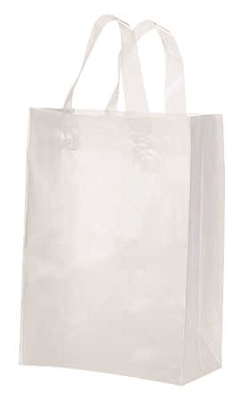 "Picture of Frosty Shopper Bags-Clear 8""X5""X10"" 50/Box"