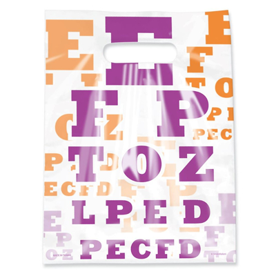 Picture of Scatter Eye Chart Bags 71/2 X 10 50/Box