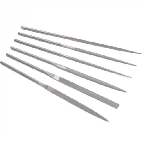 Picture of Tell Needle File Set - 5 1/2 In - 6/Set