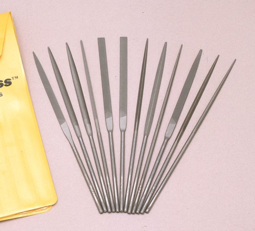 Picture of Tell Needle File Set - 5 1/2 In - 12/Set