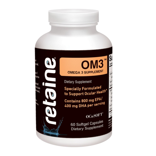 Picture of Retaine Om3 Nutritional Supplement - 60 Softgel Capsules