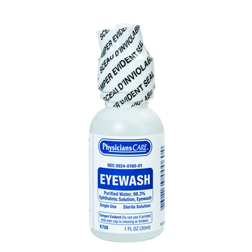 Picture of Eye Wash Solution 1 oz - Physicians Care