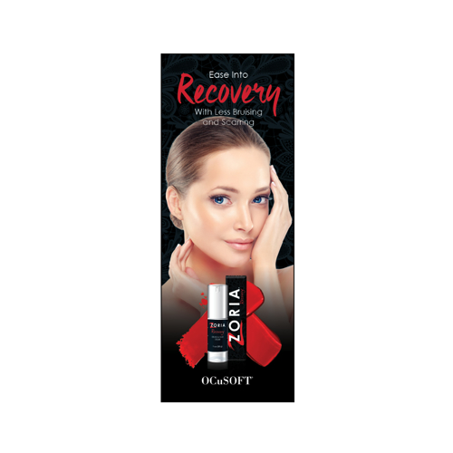 Picture of Outside Rep Samples Zoria Recovery Double-Sided Patient Brochure (Qty 25)